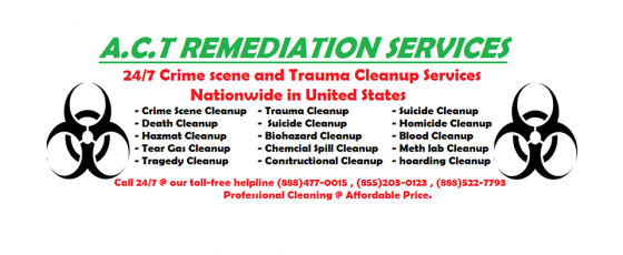 Crime scene cleaning service